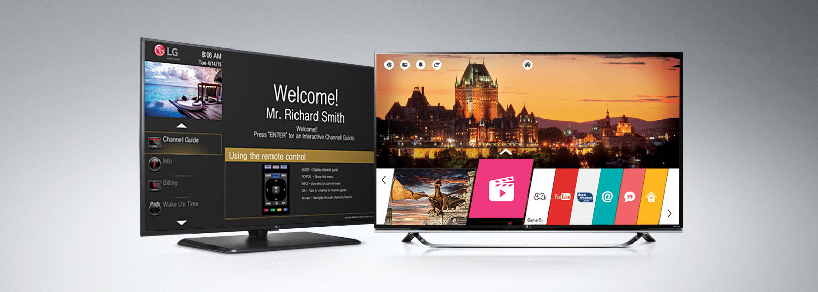 LG Hospitality TV Monitors