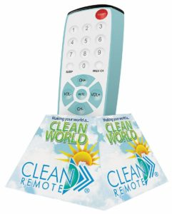 Clean Remotes for Hotels