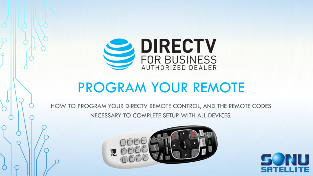 DIRECTV Remote Codes Guide