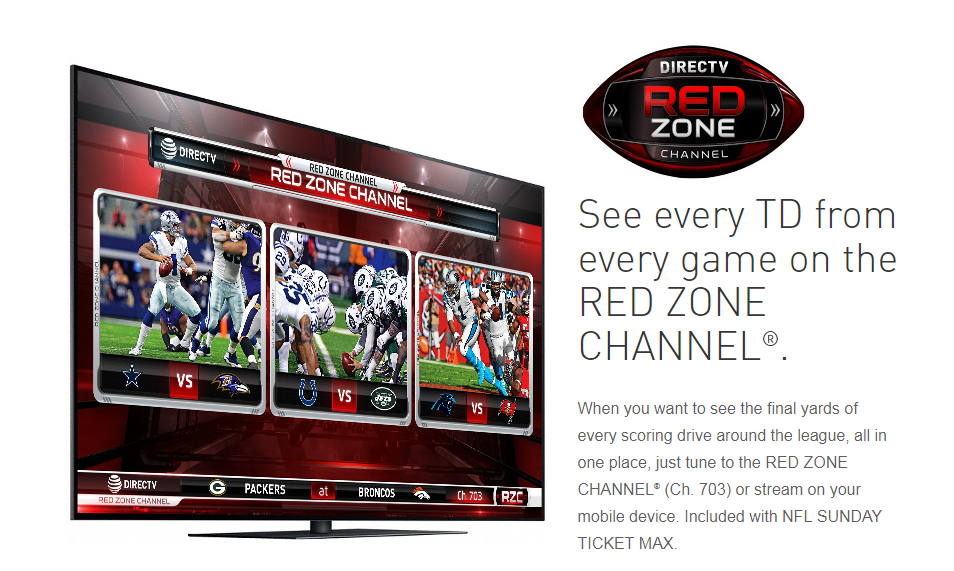 DIRECTV NFL Red Zone Channel for Business
