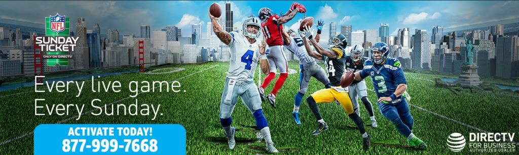 DIRECTV NFL Sunday Ticket 2018 Football for Business
