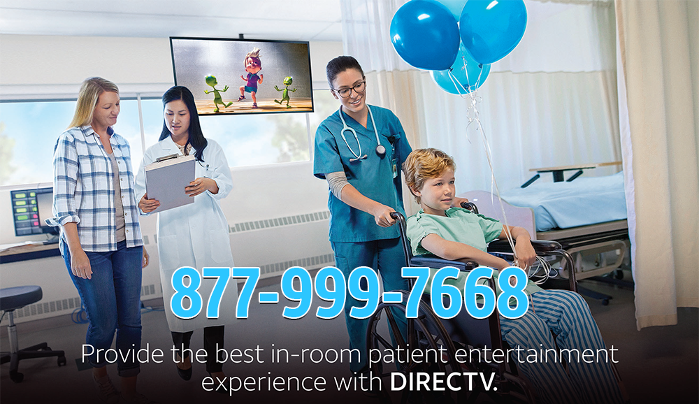 DIRECTV-for-Hospitals-Equipment