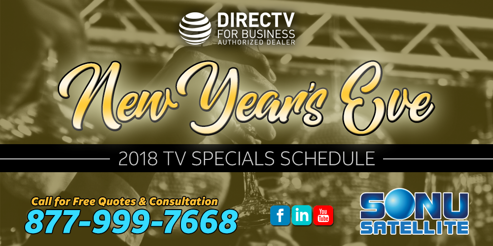 New Year's Eve 2019 | DIRECTV | TV Specials | 877-999-7668