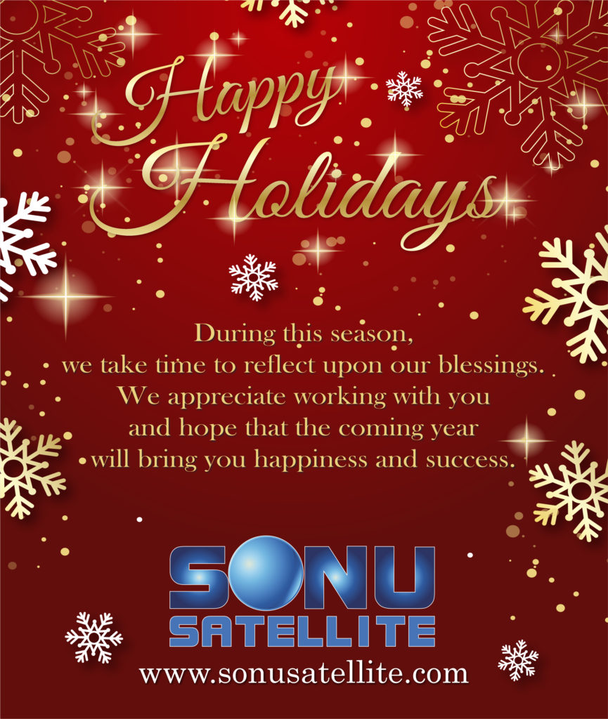 Sonu Satellite 2018 Holiday E-Card