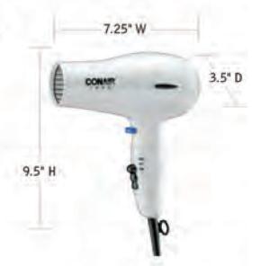 CONAIR-Hospitality-247W-Hair-Dryer-Hotel-Supply