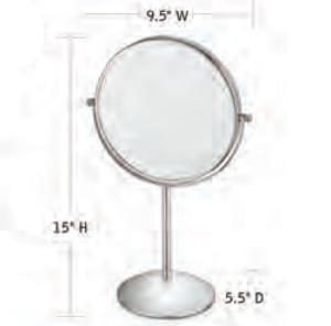 CONAIR-Hospitality-41518W-Hotel-Mirror-Hotel-Supply