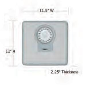 CONAIR-Hospitality-MS-9560W-Bathroom-Scale-Hotel-Supply