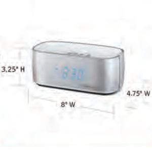 CONAIR-Hospitality-WCL70S-USB-alarm-clock-Hotel-Supply