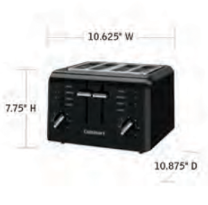 CUISINART-Hospitality-CPT-142BKWH-Toaster-Hotel-Supply
