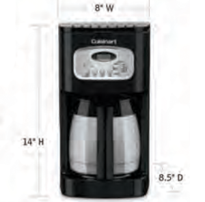 CUISINART-Hospitality-DCC-1150BKW-Coffee-Maker-Hotel-Supply