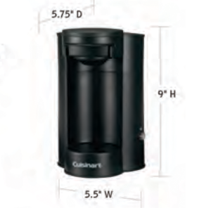 CUISINART-Hospitality-W1CM5-Coffee-Maker-Hotel-Supply
