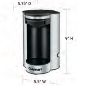 CUISINART-Hospitality-W1CM5S-Coffee-Maker-Hotel-Supply