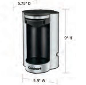 CUISINART-Hospitality-W1CM5S-Coffee-Maker-Hotel-Supply