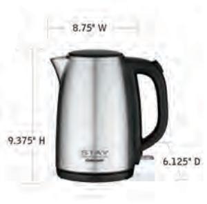 CUISINART-Hospitality-WCK170S-Kettle-Hotel-Supply