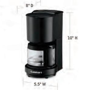CUISINART-Hospitality-WCM04B-Coffee-Maker-Hotel-Supply