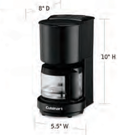 CUISINART-Hospitality-WCM04B-Coffee-Maker-Hotel-Supply