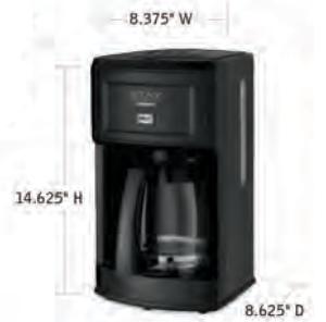 CUISINART-Hospitality-WCM280BK-Coffee-Maker-Hotel-Supply