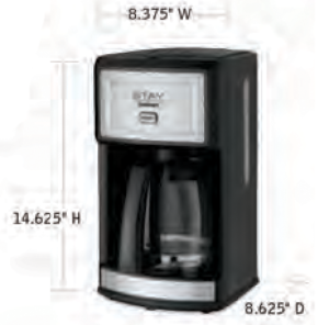 CUISINART-Hospitality-WCM280S-Coffee-Maker-Hotel-Supply