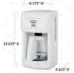 CUISINART-Hospitality-WCM280W-Coffee-Maker-Hotel-Supply