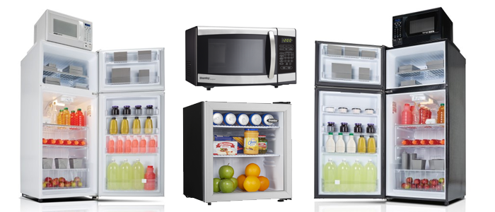 Danby-Hospitality-MiniFridge-Microwave-Hotel-Products