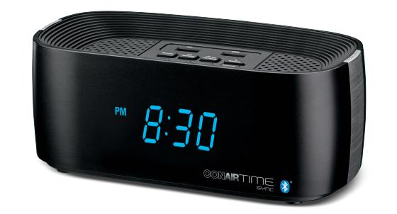 Conair Hotel Alarm Clock Radio WCL75BK