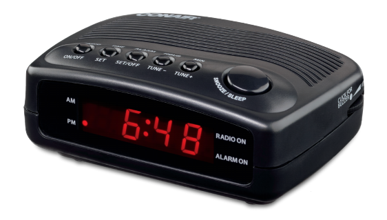 Conair Hotel Alarm Clock Radio WCR02