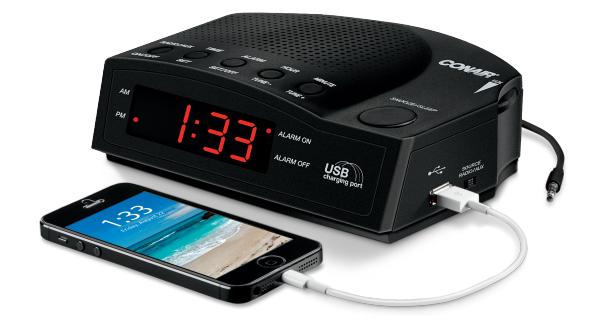 Conair Hotel Alarm Clock Radio WCR14