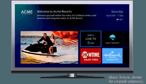 DIRECTV Advanced Entertainment Platform