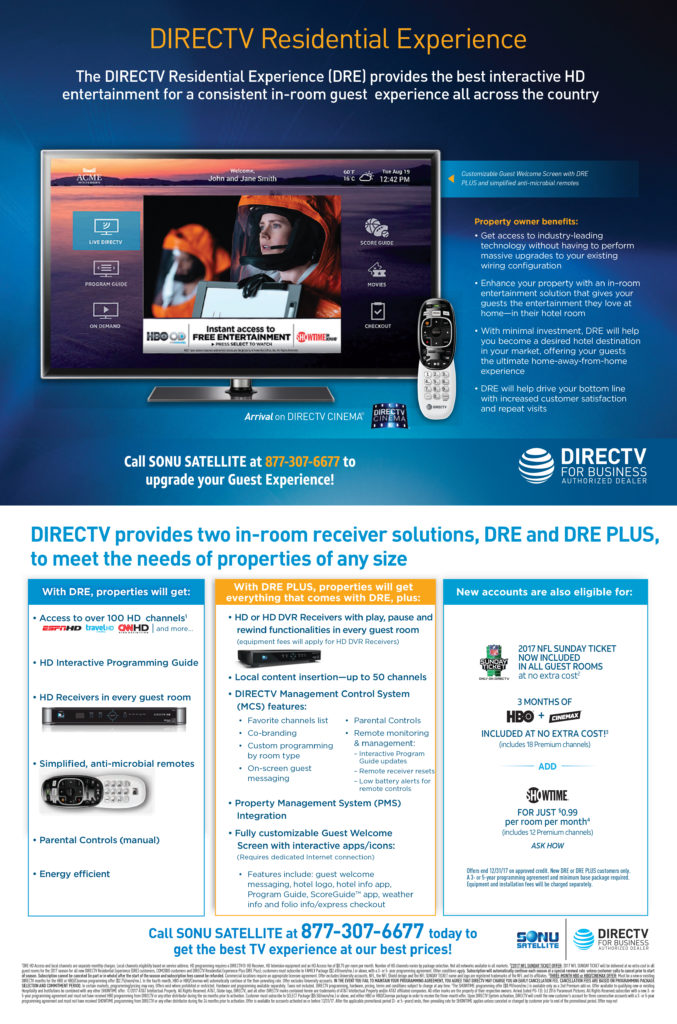 DIRECTV for Business - DRE and DRE Plus