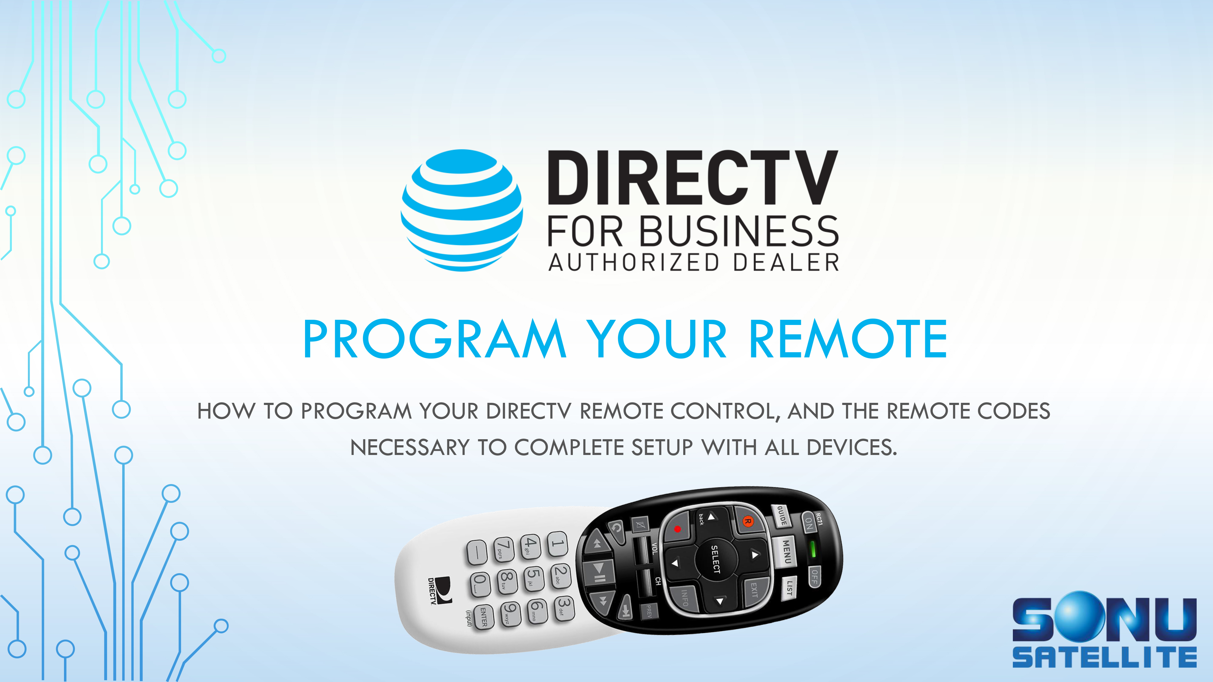 Directv Remote Codes For Business 877 999 7668